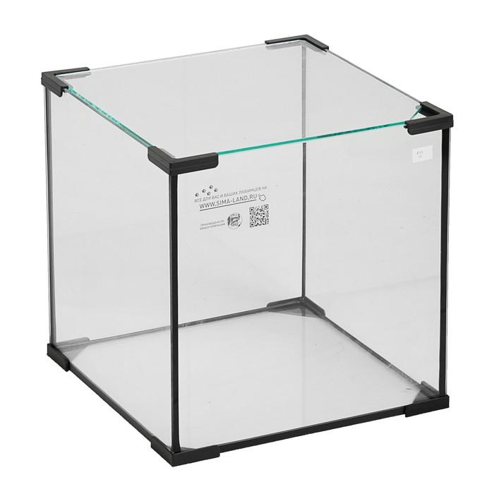 Аквариум куб, 43 литра, 35 х 35 х 35 см