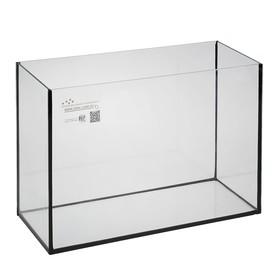 Аквариум прямоугольный Атолл без крышки, 40 литров, 55 х 21 х 35 см