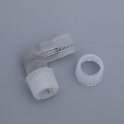 Коннектор для дюралайта 13 мм, 2W, L - образный
