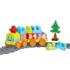 """Игровой набор """"Моя первая железная дорога"""" с конструктором, 36 элементов, 145 см"""