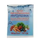Калий марганцовокислый (марганцовка) 44,9% с ферратом натрия 10г.