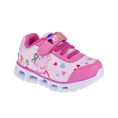 Кроссовки со светодиодами, детские арт. 7192A (розовые) (р. 28)