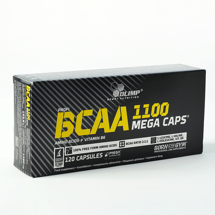 Аминокислоты BCAA OLIMP Mega Caps, 120 капсул