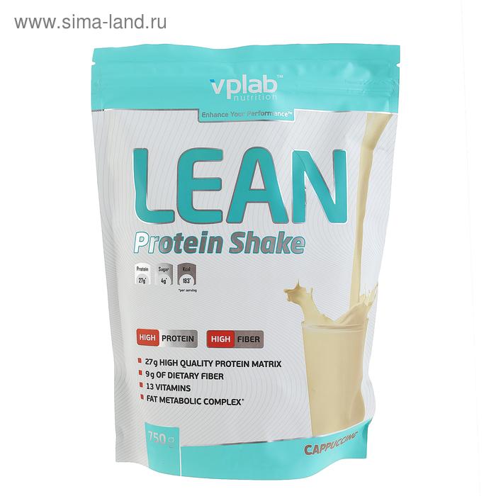 VPLab Lean Protein Shake, капучино, 750 г