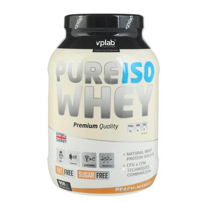 VPLab Pure ISO Whey, персик-манго, 908 г