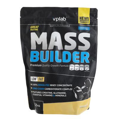 Гейнер VPLab Mass Builder, ваниль, 1200 г