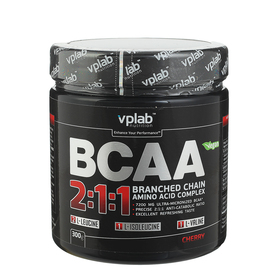 BCAA 2:1:1 VPLab, вишня, 300 г
