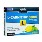 L-карнитин VPLab 3000 мг, цитрус, 7 ампул по 25 мл