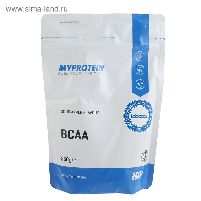 Myprotein BCAA 2:1:1, кислое яблоко, 250 г