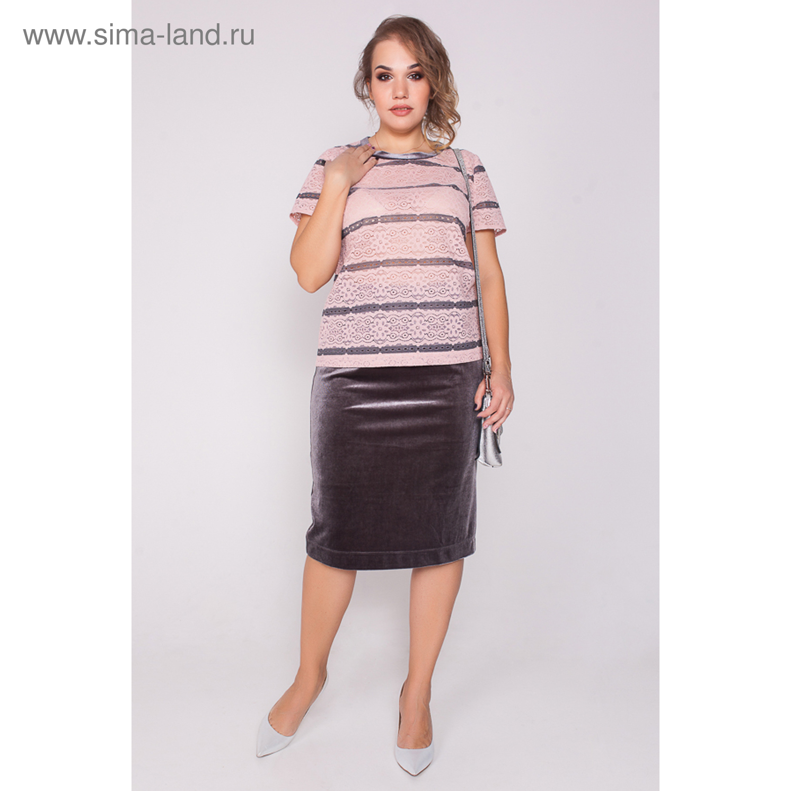 adde0232fed Комплект (блуза+юбка) женский