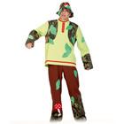 """Карнавальный костюм """"Леший"""", текстиль, штаны, рубаха, шляпа, р-р 52-54, рост 182 см"""