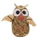 """Knitting toy """"Owl Sovushka"""" 20х14 cm"""