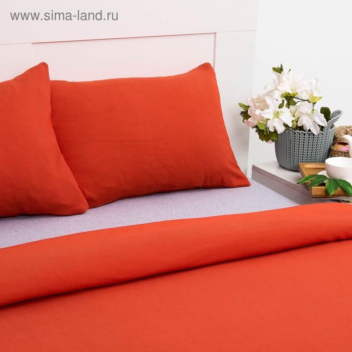 Постельное бельё Лакоста 2 сп оранжевый 180х220см 683f086d47197