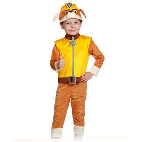 """Карнавальный костюм """"Крепыш"""", щенячий патруль, р-р 28-30, рост 104-110 см, 4-5 лет"""