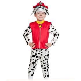 Карнавальный костюм «Маршалл», куртка, бриджи, маска, р. 28-30, рост 104-110 см