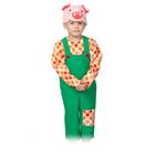 """Карнавальный костюм """"Поросёнок Нифф"""", маска, полукомбинезон, рубаха, рост 98-128 см"""