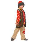 """Карнавальный костюм """"Емеля"""", текстиль, р-р 30-32, рост 116-122 см"""