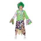 """Карнавальный костюм """"Кикимора"""", текстиль, блузка, юбка, парик, р-р 32-34, рост 128-134 см"""