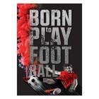 Постер I love football, А3 29,7 х 42 см