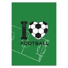 Постер «Держи взгляд на мяче», А3 29,7 х 42 см
