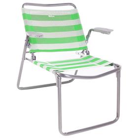 Кресло-шезлонг складное 730x570x640 мм, зеленый К1 Ош