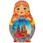 """Доска сувенирная матрёшка """"Москва №4"""", 14,9х23см"""