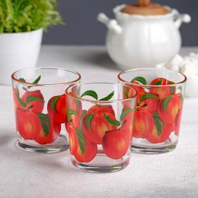 """{{photo.Alt    photo.Description    'Набор стаканов 210 мл """"Фруктово-ягодный микс"""" для коктейля, 3 шт, МИКС'}}"""