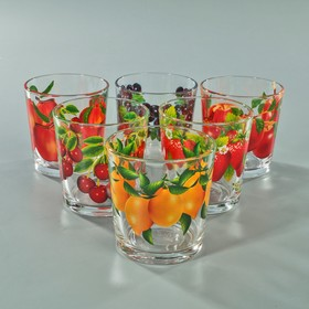 """{{photo.Alt    photo.Description    'Набор стаканов 210 мл """"Фруктово-ягодный микс"""", для коктейля, 6 шт, МИКС'}}"""