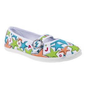Женская прогулочная обувь, цвет белый/зелёный, размер 37 Ош