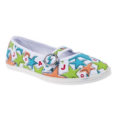 Женская прогулочная обувь, цвет белый/зелёный, размер 39