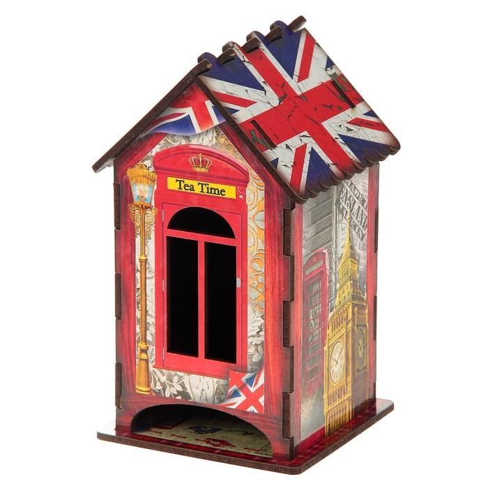 """Чайный домик """"Английский стиль"""", 9,8×9,8×17,4 см"""