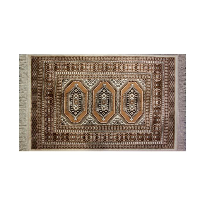 Прямоугольный ковёр Atex 117, 140 х 200 см, цвет beige - фото 7929093