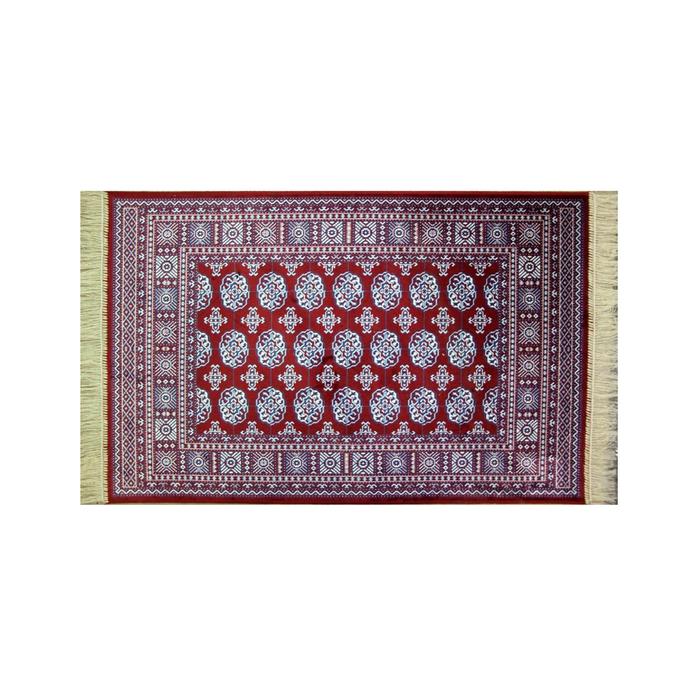 Прямоугольный ковёр Atex 184, 140 х 200 см, цвет red - фото 7929097