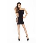 Платье-сетка Passion Erotic line, OS, (0T-00009140), черный
