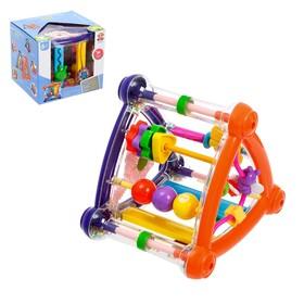 Развивающая игрушка «Забавный куб», цвета МИКС