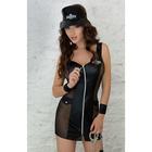 Костюм полицейского SoftLine Collection Polly, 3 предмета, M/L, (0T-00005060), черный