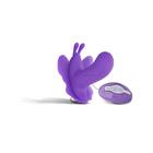 Вибробабочка поясная Seven Creations Butterfly, 7 режимов, (0T-00005354), фиолетовый