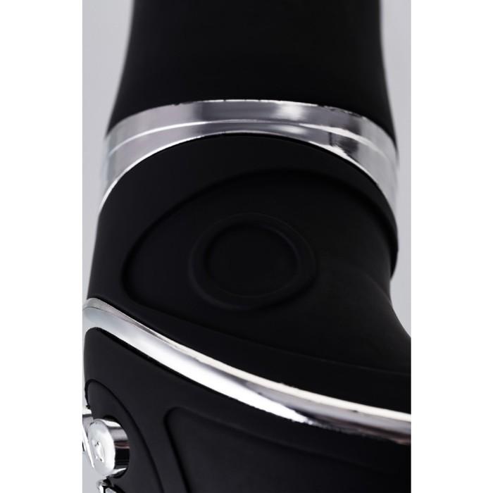 Анальный вибростимулятор Erotist, силикон, чёрный, 20,7 см