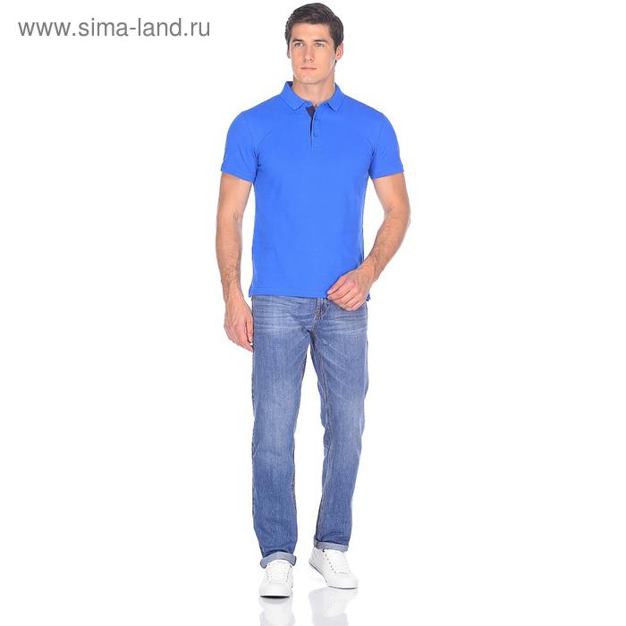 Джинсы мужские David 10549-2 цвет синий, р-р 46-48