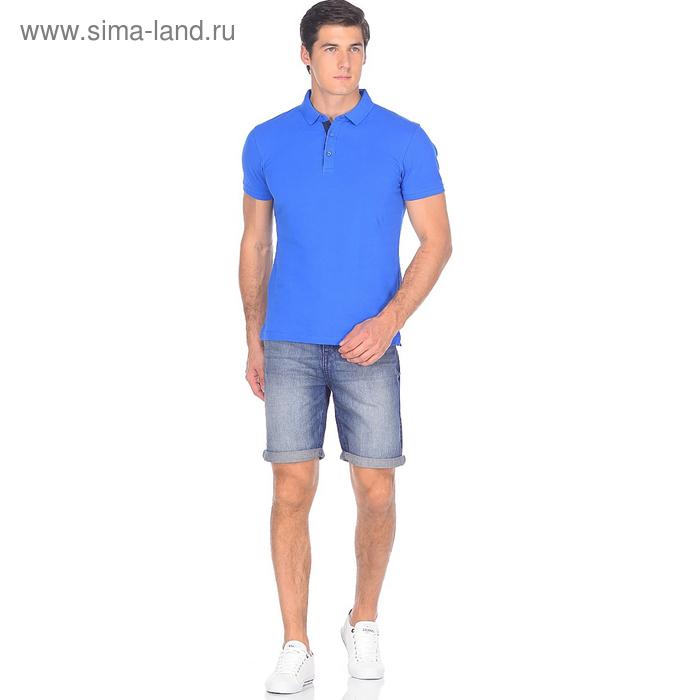 Шорты джинсовые мужские 10561, цвет тёмно-синий, р-р 56