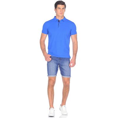 Шорты джинсовые мужские 10562, цвет тёмно-синий, р-р 50