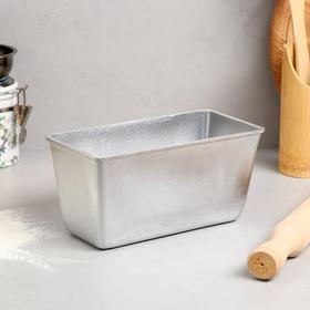Форма для выпечки хлеба, 0,6 кг, литой алюминий