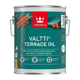 Масло для террас Valti Terrace oil EC Тиккурила 0,9л