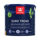 Краска Евро Тренд База А матовая для стен и обоев Тиккурила 2,7л