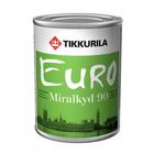 Краска алкидная Миралкид 90 База А универсальная высокоглянцевая Тиккурила 0,9л
