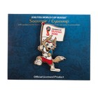 "Сувенир на присоске ""Забивака флаг"" Чемпионат мира по футболу FIFA 2018 в России"
