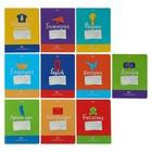 """Комплект предметных тетрадей 48 листов """"Оригами"""", обложка мелованный картон, со справочным материалом, набор 10 шт."""
