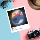 Почтовая карточка в стиле инстаграм «Выше облаков», 8,8 х 10,7 см