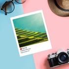 Почтовая карточка в стиле инстаграм «На другом конце света», 8,8 х 10,7 см
