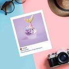 Почтовая карточка в стиле инстаграм «Вкусно и красиво», 8,8 х 10,7 см